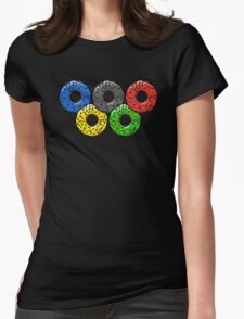Olympic Donuts - Unofficial Non Competitors Uniform 2016 Womens Fitted T-Shirt
