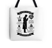 Captain Hook Quotes. OUAT. Killian Jones Tote Bag