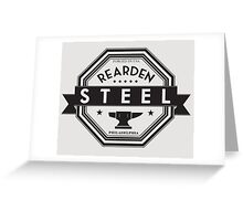 Rearden Steel Greeting Card