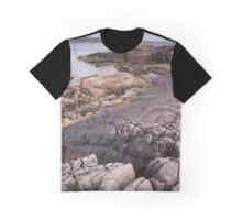 Loch Ewe coastline Graphic T-Shirt
