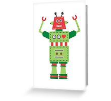 a humanoid 5 Greeting Card