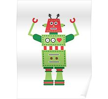 a humanoid 5 Poster