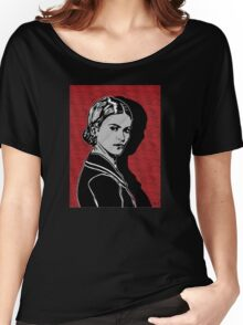Frida Kahlo Portrait 1920s Women's Relaxed Fit T-Shirt