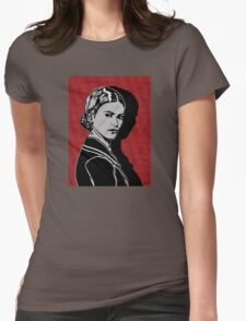 Frida Kahlo Portrait 1920s Womens Fitted T-Shirt