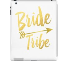 Bride Tribe Gold Foil Wedding Bachelorette Party Hens Night Favors Gifts Tribal Arrow iPad Case/Skin
