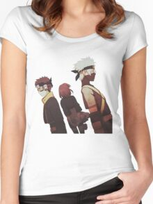 Kakashi, Rin, Obito Women's Fitted Scoop T-Shirt