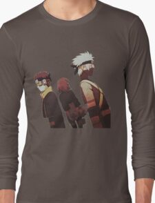 Kakashi, Rin, Obito Long Sleeve T-Shirt