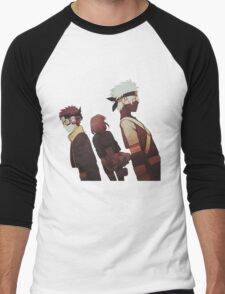 Kakashi, Rin, Obito Men's Baseball ¾ T-Shirt