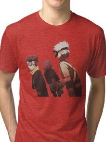Kakashi, Rin, Obito Tri-blend T-Shirt