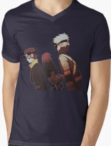 Kakashi, Rin, Obito Mens V-Neck T-Shirt