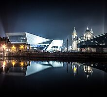 Canning Dock Liverpool by Paul Madden