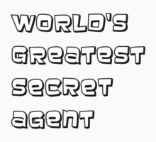 World's greatest secret agent One Piece - Long Sleeve