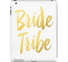 Bride Tribe Gold Foil Wedding Bachelorette Party Hens Night Favors Gifts iPad Case/Skin