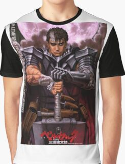 Berserk, Guts 343 Graphic T-Shirt