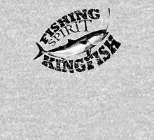 Fishing Spirit - Kingfish - Black Unisex T-Shirt