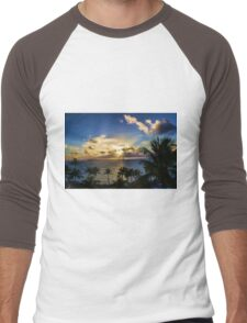 Sunrise in Paradise 4 Men's Baseball ¾ T-Shirt
