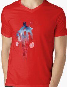 Capitan America Mens V-Neck T-Shirt