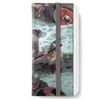 Vikings wading iPhone Wallet/Case/Skin