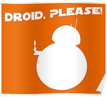 Droid, Please! Poster