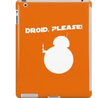 Droid, Please! iPad Case/Skin