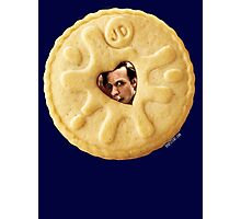 Doctor Who - Matt Smith 11th Doctor Trapped in a Jammie Dodger Photographic Print