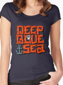 Deep Blue Sea Women's Fitted Scoop T-Shirt