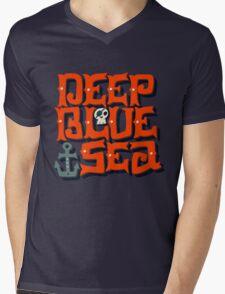 Deep Blue Sea Mens V-Neck T-Shirt
