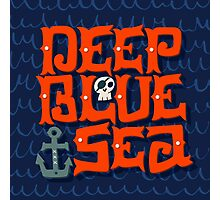 Deep Blue Sea Photographic Print