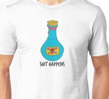 Shit Happens Poison 3 Colours Unisex T-Shirt
