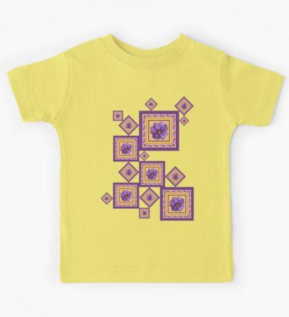 Purple Wildflower Kids Tee