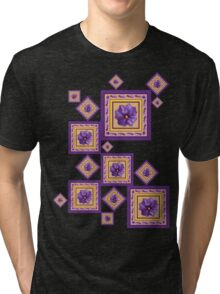 Purple Wildflower Tri-blend T-Shirt