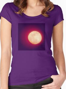 Mystical Moon Women's Fitted Scoop T-Shirt