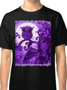 Nyx Of The Night (Purple) Classic T-Shirt