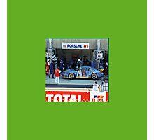 51 LeMans_Porsche Pit 81 Photographic Print