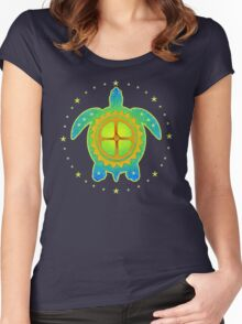 World Turtle 2 Women's Fitted Scoop T-Shirt