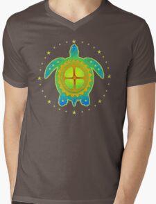 World Turtle 2 Mens V-Neck T-Shirt