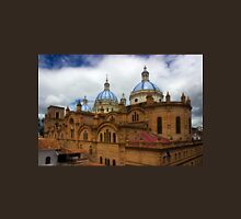Rear Corner View Of Immaculate Conception Cathedral Unisex T-Shirt