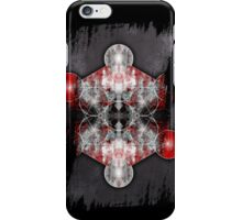Metatron's Cube red iPhone Case/Skin