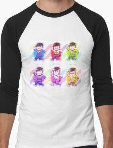 Jumpsuit matsu - Allmatsu Men's Baseball ¾ T-Shirt