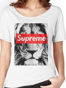 Supreme lion Women's Relaxed Fit T-Shirt