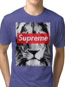 Supreme lion Tri-blend T-Shirt