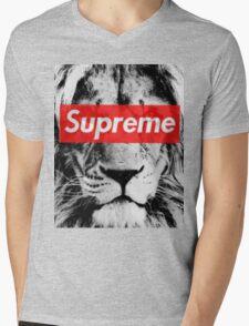 Supreme lion Mens V-Neck T-Shirt