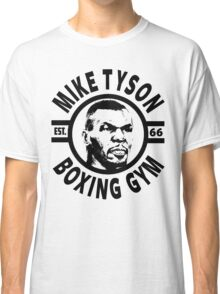 Mike Tyson Boxing Gym Classic T-Shirt