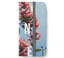 Chance the Rapper - Floral Shirt Design iPhone Wallet/Case/Skin