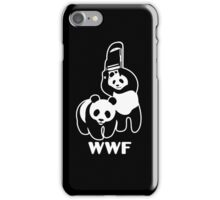 WWF Chair Funny iPhone Case/Skin