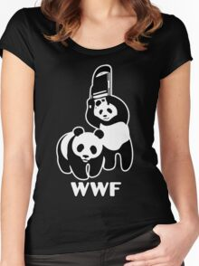 WWF Chair Funny Women's Fitted Scoop T-Shirt