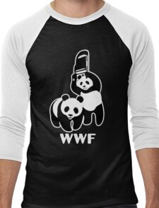 WWF Chair Funny Men's Baseball ¾ T-Shirt