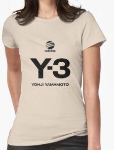 Yohji Yamamoto Y-3 Womens Fitted T-Shirt