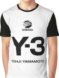 Yohji Yamamoto Y-3 Graphic T-Shirt