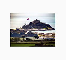 St Michaels Mount from Trencrom Hill Unisex T-Shirt